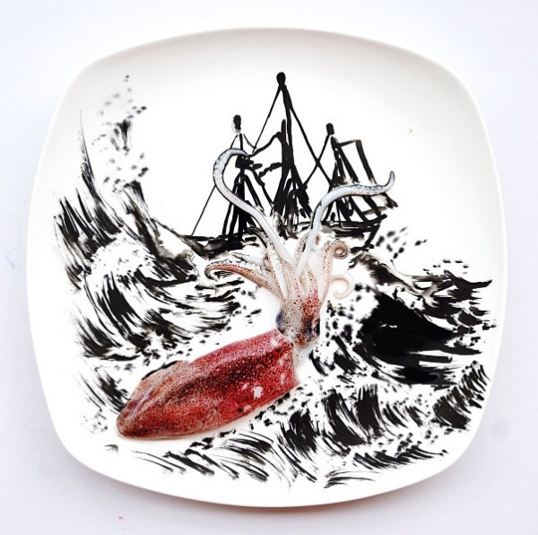 Creative food art by malaysian red hong yi inspired magazine for Ag inspired cuisine