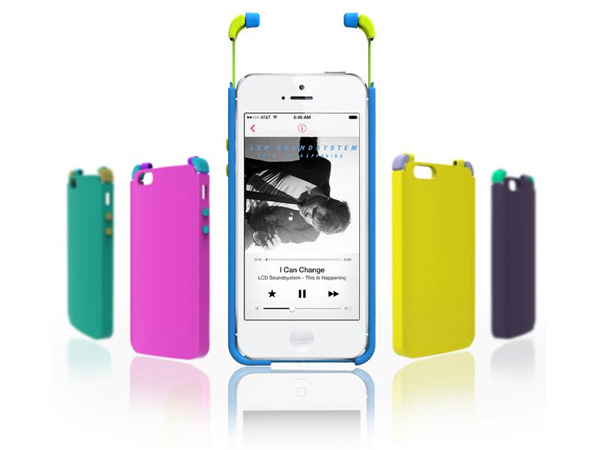 Integrated Case Earphone